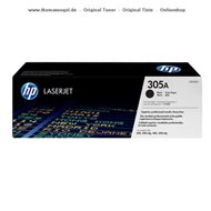 HP Toner schwarz CE410A