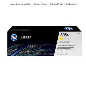HP Toner gelb CE412A