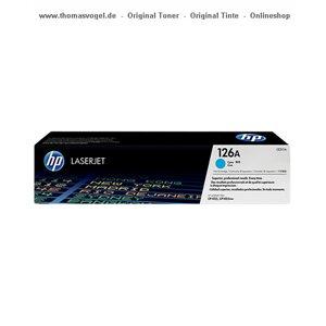HP Toner cyan CE311A