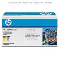 HP Toner gelb CF032A