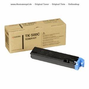 Kyocera Toner cyan TK-500C