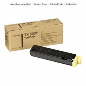 Kyocera Toner yellow TK-500Y
