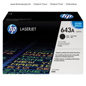 HP Druckkassette schwarz Q5950A