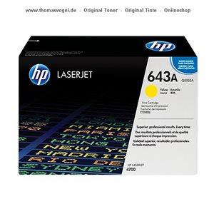 HP Druckkassette gelb Q5952A
