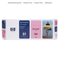 HP Tintenpatrone light magenta C4935A