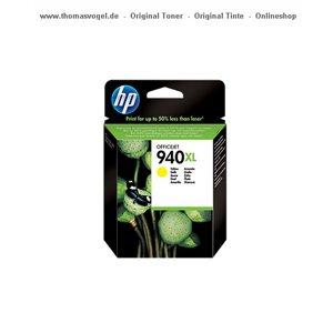 HP Tintenpatrone gelb C4909AE