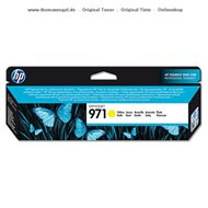 HP Tinte yellow CN624AE