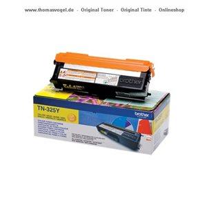 Original Brother Toner TN-325Y yellow XL für 3.500 Seiten