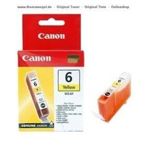 Canon Tintenpatrone BCI-6Y