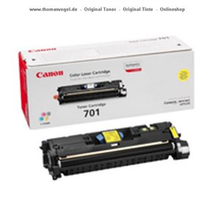 Canon Toner yellow 701Y