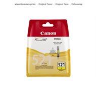 Canon Tinte yellow CLI-521Y