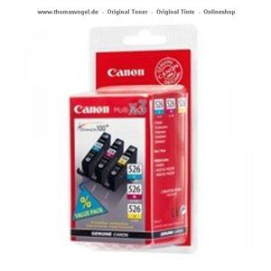 Canon Tinte C, M, Y CLI-526Multipack