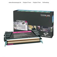 Original Lexmark Toner magenta C736H1MG