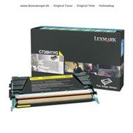 Lexmark Toner yellow C736H1YG