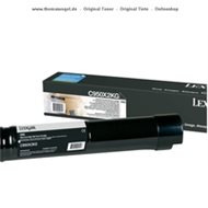 Original Lexmark Toner schwarz C950X2KG