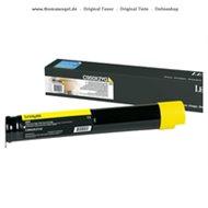 Lexmark Toner gelb C950X2YG