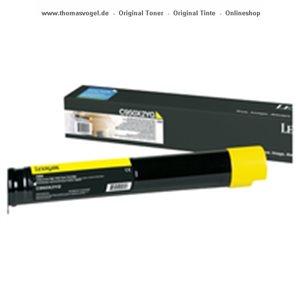 Original Lexmark Toner gelb C950X2YG
