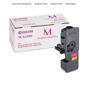 Original Kyocera Toner magenta TK-5230M