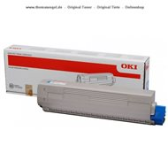 Original Oki Toner yellow 44059253