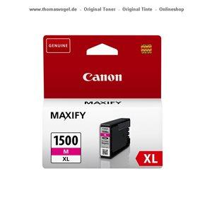 Original Canon Tinte magenta PGI-1500XL M für 780 Seiten