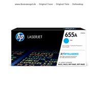 Original HP Toner cyan CF451A (655A) für 10.500 Seiten