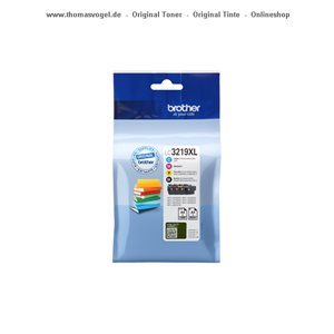 Original Brother Tinte Value Pack LC-3219XL hohe Ergiebigkeit