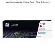 Original HP Toner magenta CF413X (410X) für 5.000 Seiten