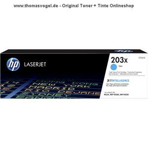 Original HP Toner cyan CF541X (203X) für 2.500 Seiten
