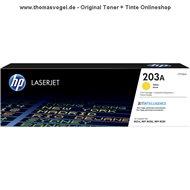 Original HP Toner gelb / yellow CF542A (203A) für 1.300 Seiten