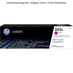 Original HP Toner magenta CF543X (203X) für 2.500 Seiten