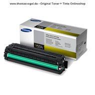 Original Samsung Toner gelb CLT-Y504S/ELS (1.800 Seiten)