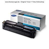 Original Samsung Toner cyan CLT-C504S/ELS (1.800 Seiten)
