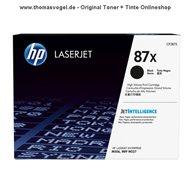 Original HP Toner CF287X (18.000 Seiten)