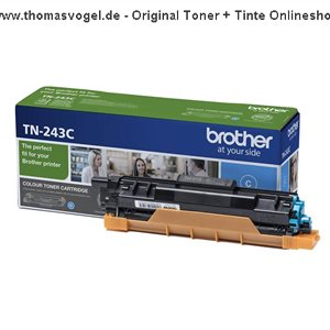 Original Brother Toner TN-243C cyan (1.000 Seiten)