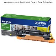 Original Brother Toner TN-243Y yellow (1.000 Seiten)