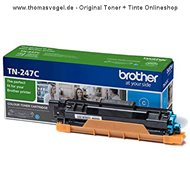Original Brother Toner TN-247C cyan (2.300 Seiten)