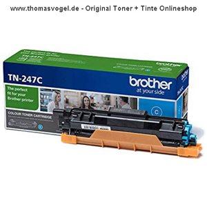 Original Brother Toner TN-247C cyan (2.300 Seiten)