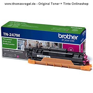 Original Brother Toner TN-247M magenta (2.300 Seiten)