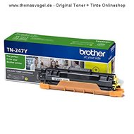 Original Brother Toner TN-247Y yellow (2.300 Seiten)