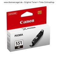 Original Canon Tinte schwarz CLI-551BK