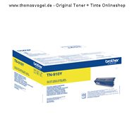 Original Brother Toner TN-910Y yellow (9.000 Seiten)