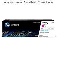 Original HP Toner W2213X magenta (hohe Reichweite ca. 2.450 Seiten)