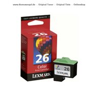 Lexmark Druckerpatrone color 10N0026