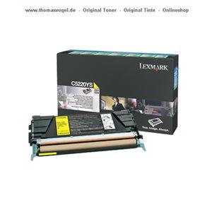 Lexmark Toner gelb C5220YS