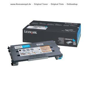 Original Lexmark Toner cyan C500S2CG