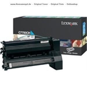 Lexmark Toner cyan hc C7700CH