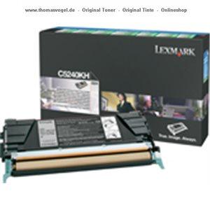Lexmark Toner schwarz hc C5240KH