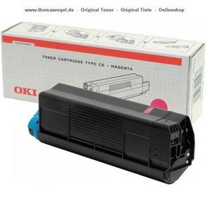 Original Oki Toner magenta 42127406