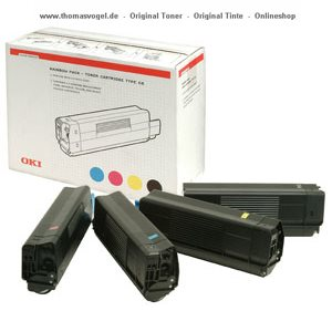 Original Oki Toner Rainbow Kit 42403002