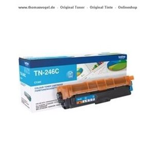 Original Brother Toner cyan XL TN-246C für 2.200 Seiten